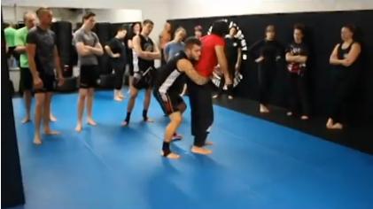 Martial Arts Technique: Head Arm Takedown