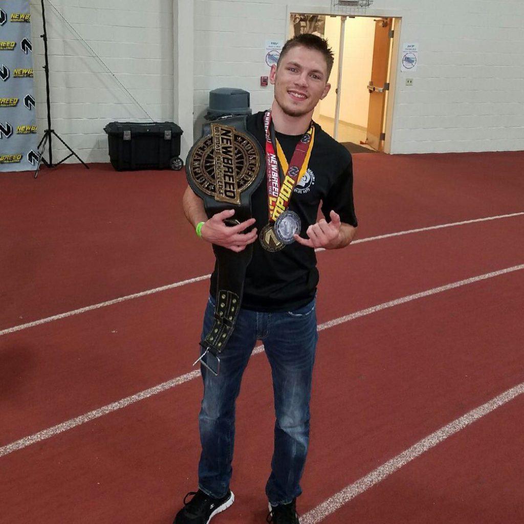 Sean Perogory Wins Belt!
